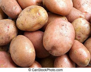 Potato food - Healthy eating vegetable food - potato...