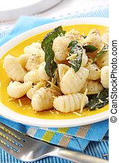 Potato Gnocchi with Sage Butter