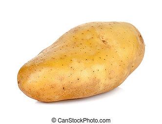 potato isolated on the white background