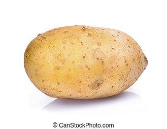 Potato isolated on white background.