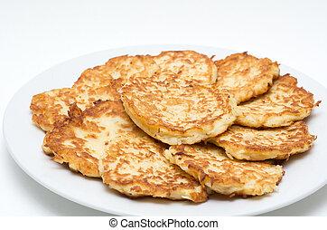 Potato Pancakes for Hanukkah Jewish Holiday