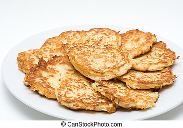 Potato Pancakes for Hanukkah Jewish Holiday