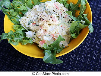 Typical Traditional German Potato Salad Typical Traditional Freshly