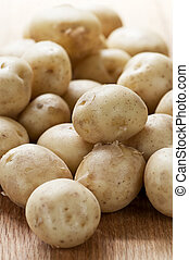 Potatoes - Assorted whole fresh organic mini potatoes...