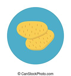 potatoes flat icon