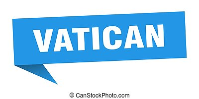 poteau indicateur, indicateur, vatican, signe, bleu, sticker...