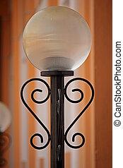 poteau lampe