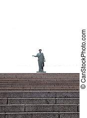 Potemkin steps, Odessa - View of the Potemkin steps in...