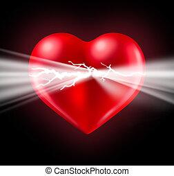 potencia, de, amor