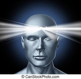 potencia, de, la mente
