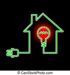 potencia, fuente de luz, circuito, bombilla, exposiciones