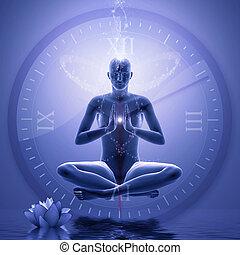 potencia, meditación, yoga