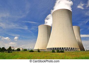 potencia, temelin, planta nuclear