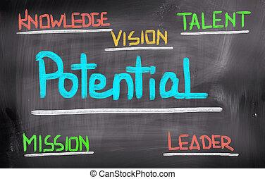 potencial, concepto
