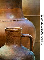 poterie, argile