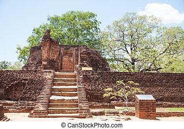Potgul Vihara Polonnaruwa Sri Lanka - Potgul Vihara or...