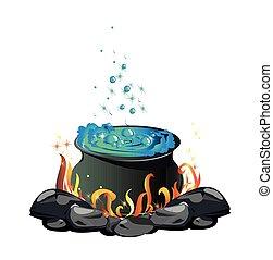 potion cauldron
