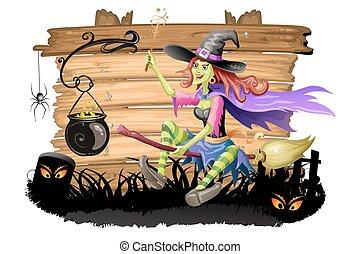 potion, sorcière, préparer