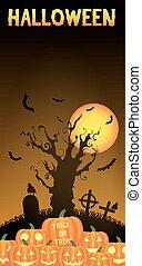 potirons, halloween, cimetière