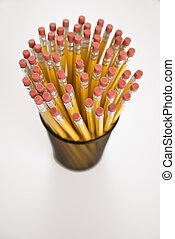 potloden, holder.