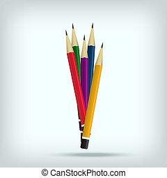 potloden, set