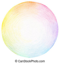potlood, scribbles, abstract, achtergrond, cirkel, texture.