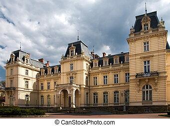 Potocki palace in Lviv, Ukraine - Potocki palace in Lviv,...