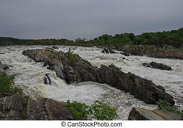 Potomac River, Great Falls State Park, Virginia