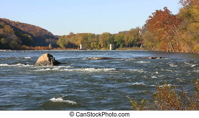 Potomac River Harpers Ferry - Rapids of the Potomac River...
