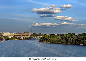 Potomac river, Washington DC