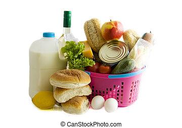 potraviny, busket