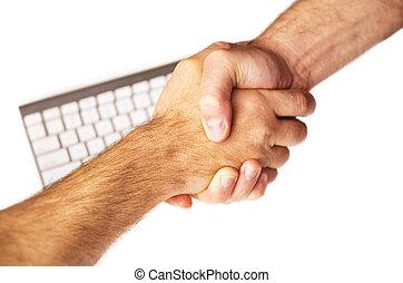 potrząśnijcie ręki