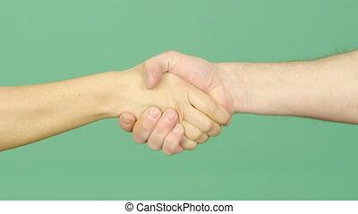 potrząsająca ręka