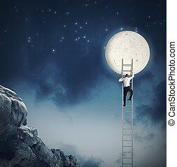 potrzeba, księżyc
