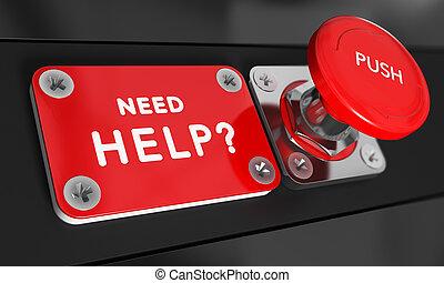 potrzeba, pomoc