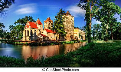 Pottendorf Castle in Austria