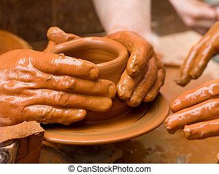 potter's, руки