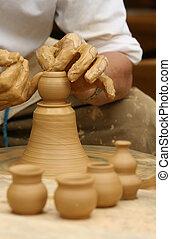 potter\\\'s, אומנות