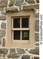 Potts' Barn Window - Potts' Barn in Valley Forge National...