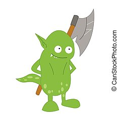 potwór, ilustracja