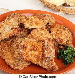 poulet, cuisses