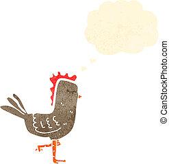 poulet, dessin animé