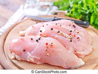 poulet, Filet