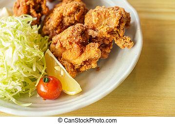 poulet, frit