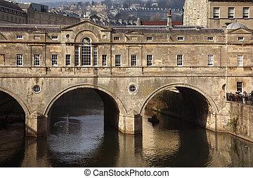 Poultney Bridge - River Avon - Bath - England