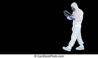 poumons, alpha, maladie, infectieux, docteur, antibactérien...