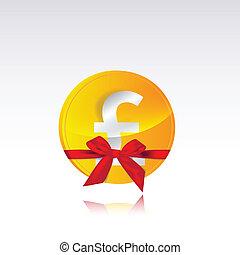 pound coin gift