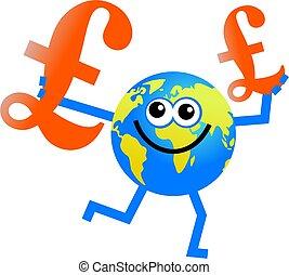 pound globe