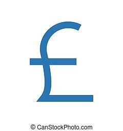 pound  glyph color icon