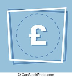 Pound Sign Icon Web Button